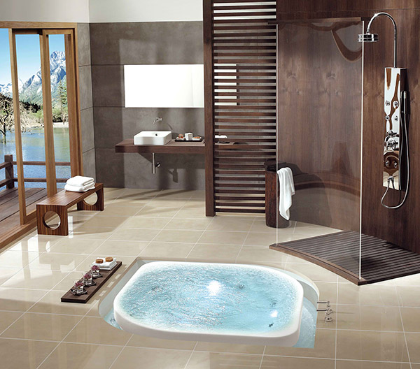 Float bathtub