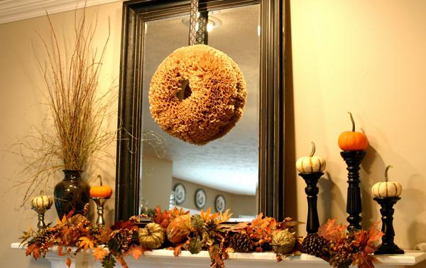 spongy wreath