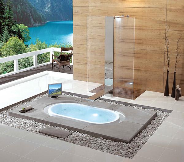 lake Kasch bathtub