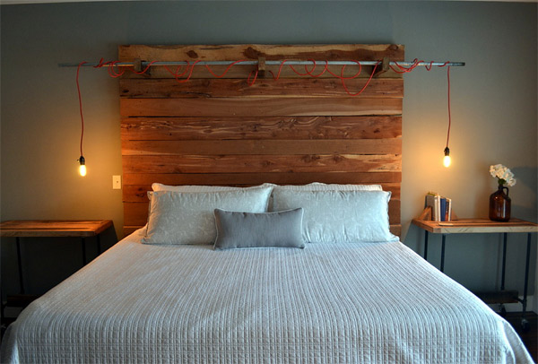 wooden headboard designs