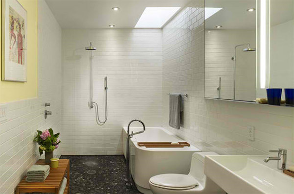 laying tiles in bathroom 20 beautiful bathrooms using subway tiles home design lover 19141