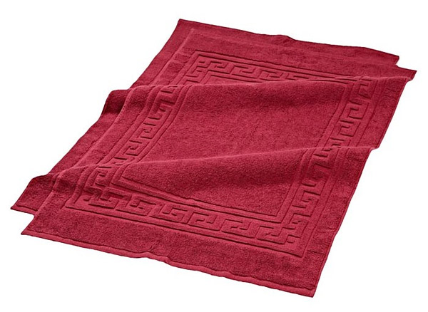 Egyptian cotton bathroom floor rug