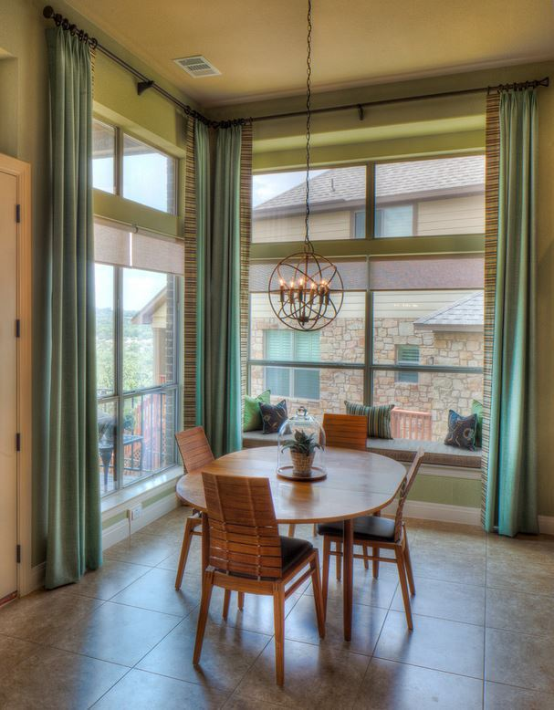 20 dining room window treatment ideas