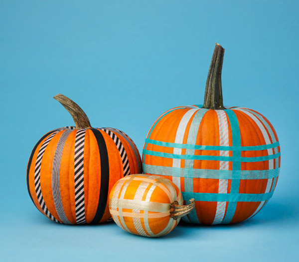 20 creative diy non carve pumpkin ideas home design lover for Glow in the dark paint for real pumpkins