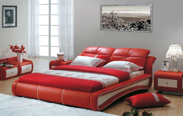 20 Ravishingly Beautiful Red Full Beds Home Design Lover