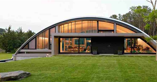 Exceptional Arch Structure Reveals Arc House New