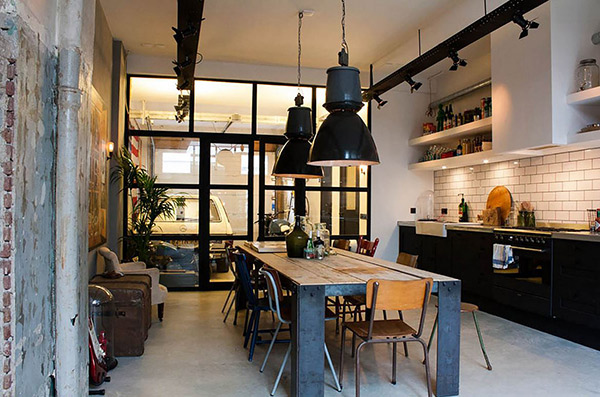 20 No Nonsense Industrial Dining Room Designs