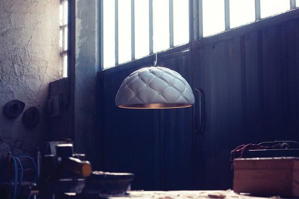 Clamp Pendant Light