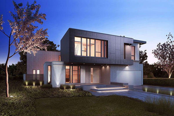 Crafthouse light and modern homes in bayview village of for Modern home designs canada