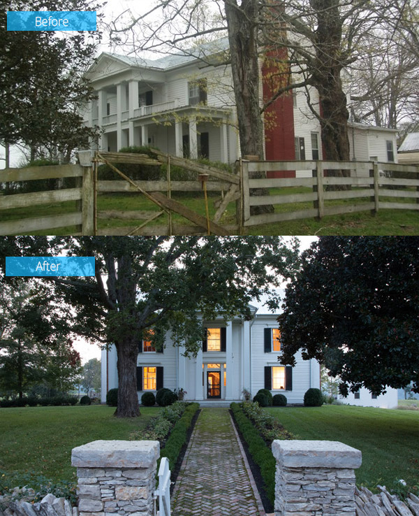 Before And After Beautiful Renovation Of A Tennessee