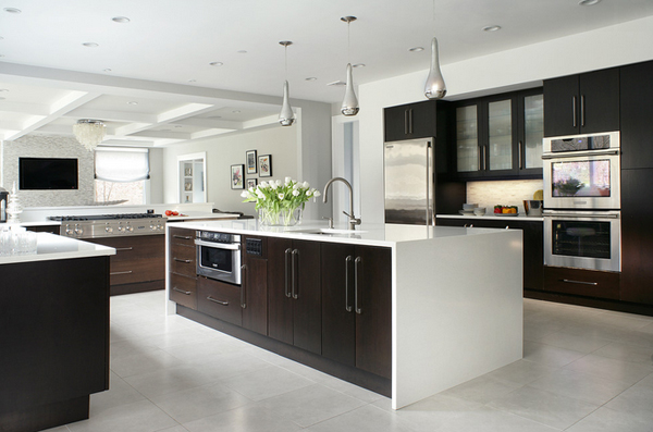 Contemporary Kitchen Layouts