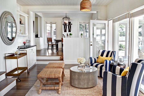 Bon Nautical Living Room Decorations