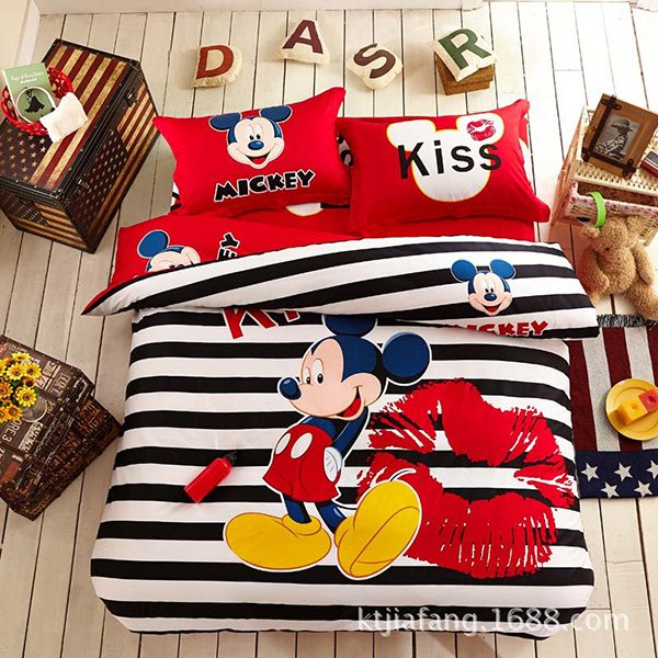 3D Mickey Bedding Set