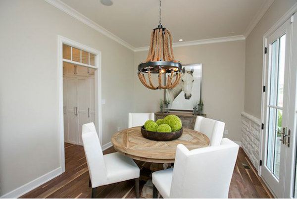 12. Chic Dining Room