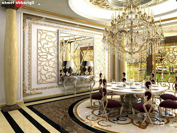 20 Awe Inspiring Art Deco Dining Room Designs Home