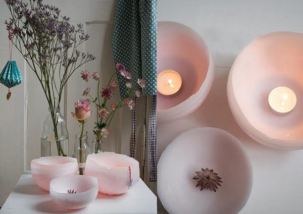 DIY Handmade Wax Candles