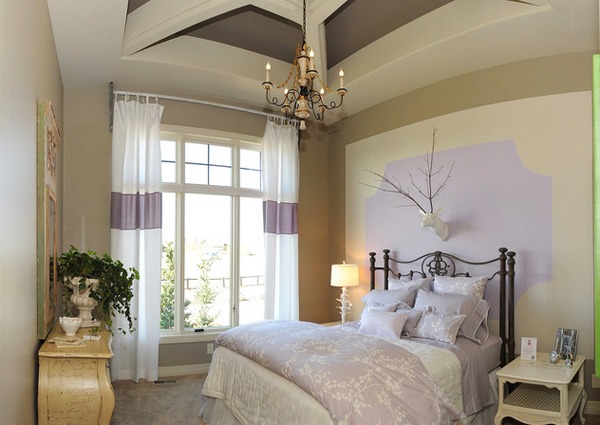 bedrooms with two focal points