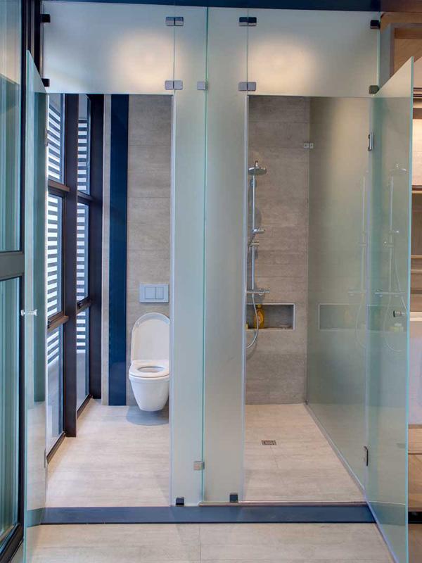 toilet shower design