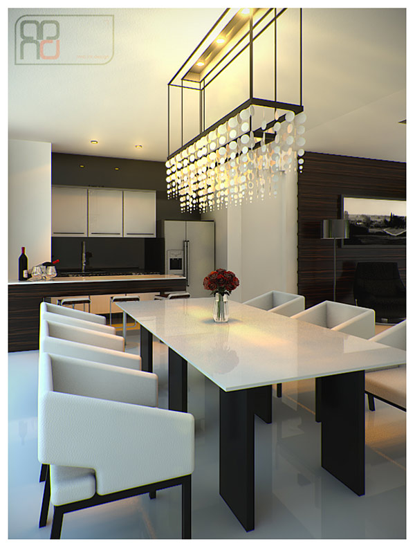 15. Simply Dining Area