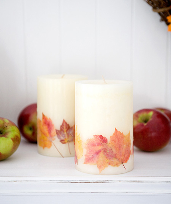 Fall Themed Candles