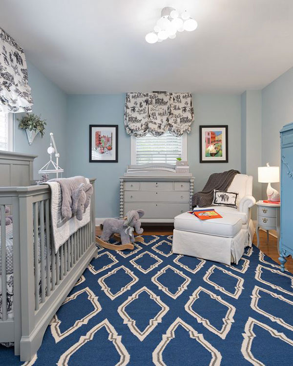 20 Traditional Nursery Designs For Baby Boys | Home Design Lover