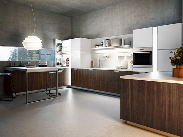 Expressive Kitchen Cabinets