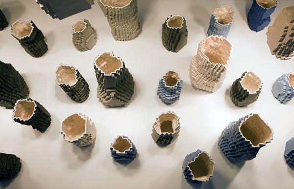 Pixel Vase Landscape