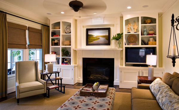 Small Living Room With Fireplace And Tv 20 beautiful living room layout with two focal points | home