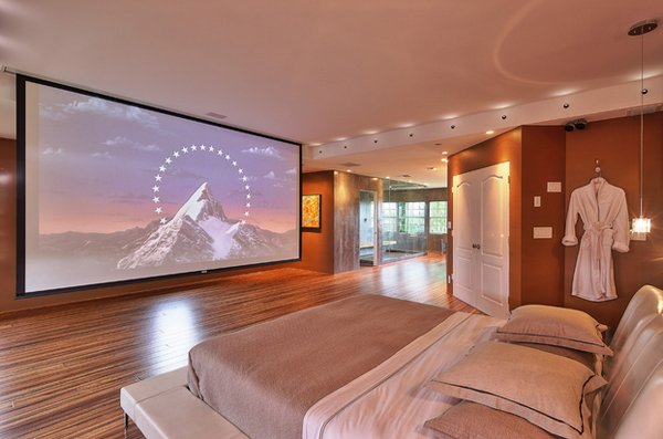 Master Bedroom Tv Wall 20 flat screen tv furniture for the bedroom | home design lover