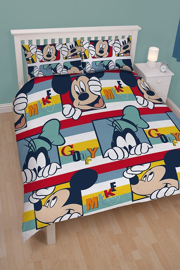 mickey bed sheets