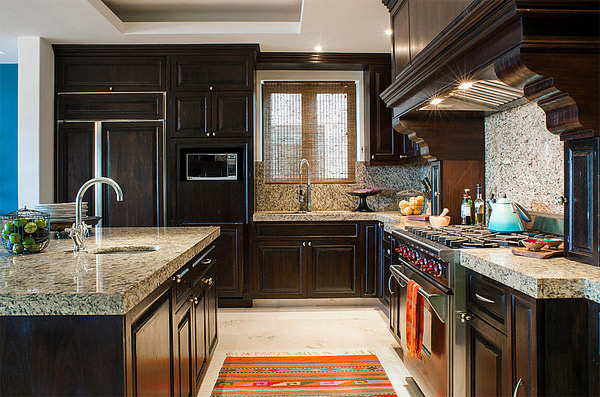 island kitchen marble