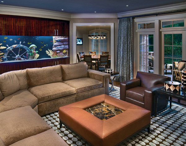 Living Room Decorating Ideas Fish Tank 22 contemporary living room designs with fish tanks | home design