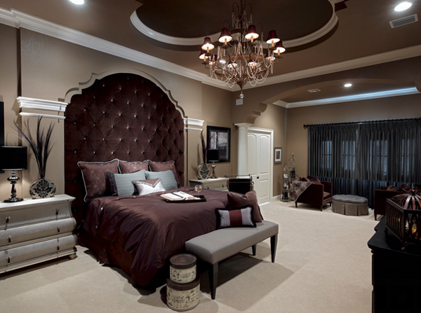 20 Fancy Bedrooms with Two Focal Points | Home Design Lover