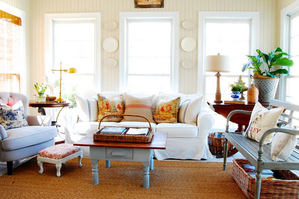 Amazing French Country Living Room Ideas Gallery