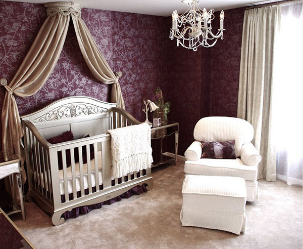 nursery room designs for girls