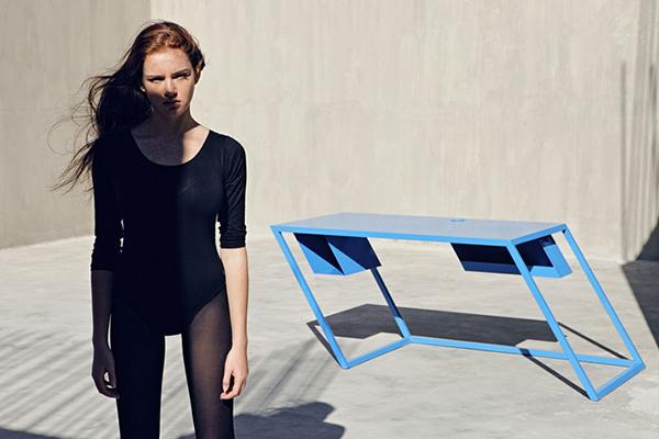 tilted furnitures