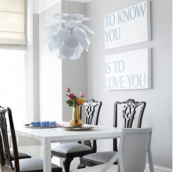 6. Eclectic Dining Room