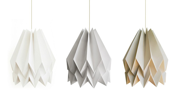Origami lightings