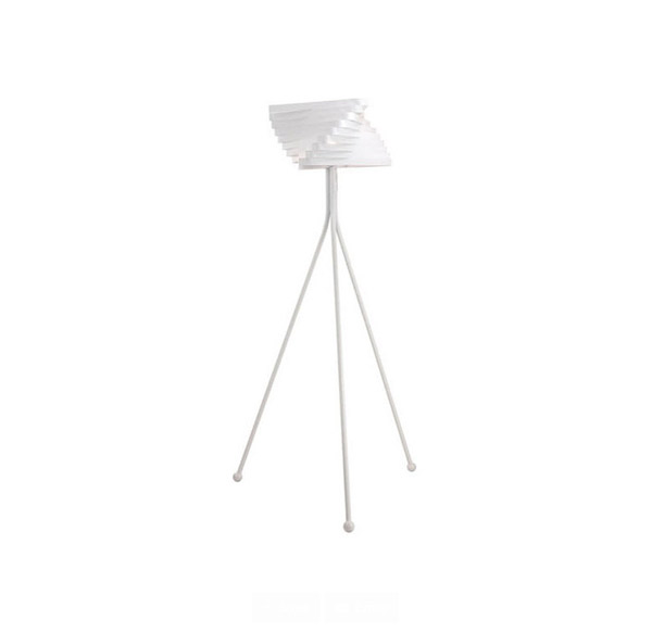 metal white floor lamps