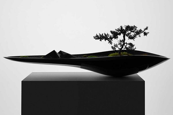 abstract bonsai holder
