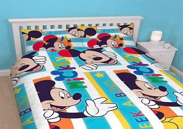 Mickey Mouse Double Duvet - Boo