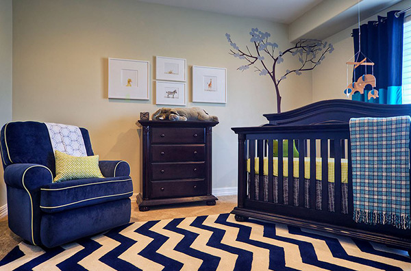 High-Style Nursery For Boys