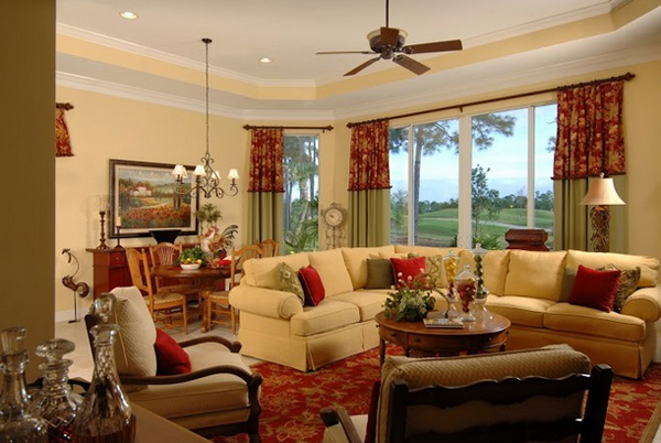 images of french country living rooms 20 dashing country living rooms home design lover 26123