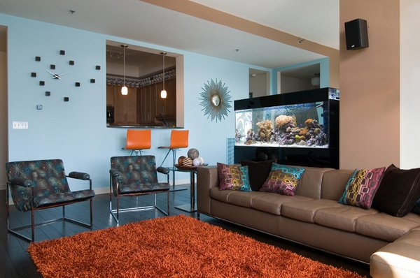 living room fish tank 22 contemporary living room designs with fish tanks home 14142