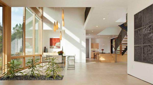 clean interior spaces