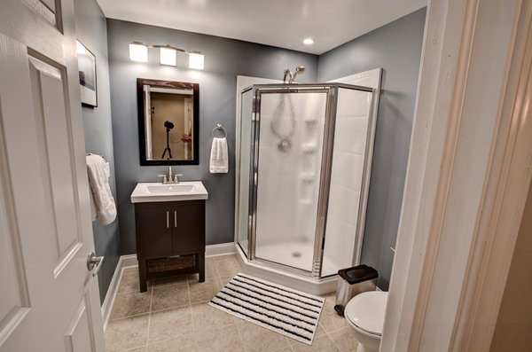 48 Cool Basement Bathroom Ideas Home Design Lover Magnificent Basement Bathroom Design Ideas