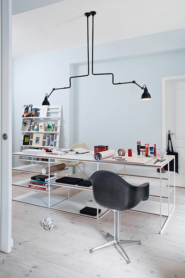 modern craft room