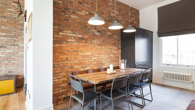 20 No Nonsense Industrial Dining Room Designs  Home Design Lover