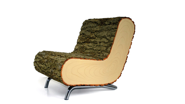 Naturev2 01 Furniture Covered With Real Tree Bark Home Design Lover