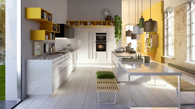 Cutting Edge Creative Sleek Kitchen Designs by Snaidero Kitchen ...